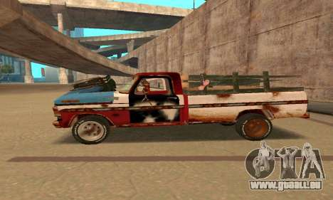 Ford PickUp Rusted für GTA San Andreas linke Ansicht