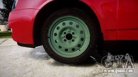 VAZ-2170 obarska pour GTA 4 Vue arrière
