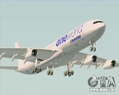 Airbus A340-300 Finnair (Oneworld Livery) pour GTA San Andreas moteur