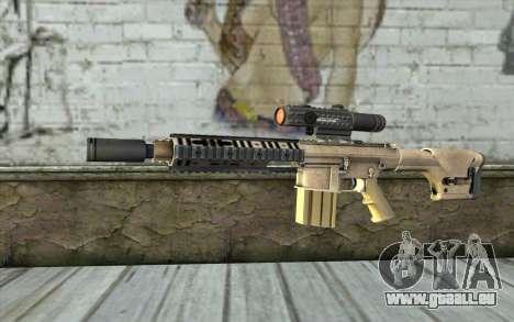 M110 Cuarter Combat Rifle für GTA San Andreas