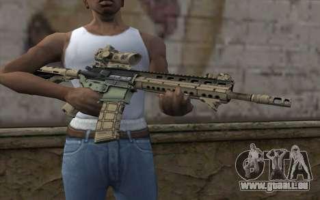 Larue OBR MOHW pour GTA San Andreas troisième écran