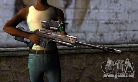 Sniper rifle (C&C: Renegade) für GTA San Andreas dritten Screenshot