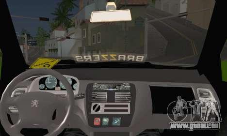 Peugeot 106 GTI JDM STYLE pour GTA San Andreas sur la vue arrière gauche
