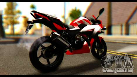Honda All New CBR150R pour GTA San Andreas laissé vue