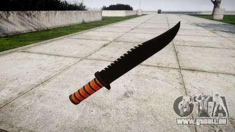 Couteau de combat Ka-Bar pour GTA 4