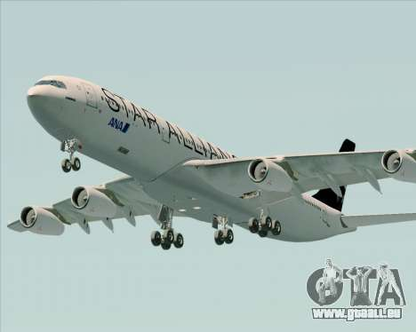 Airbus A340-300 All Nippon Airways (ANA) pour GTA San Andreas moteur
