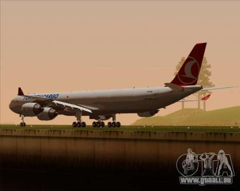 Airbus A340-600 Turkish Cargo pour GTA San Andreas roue