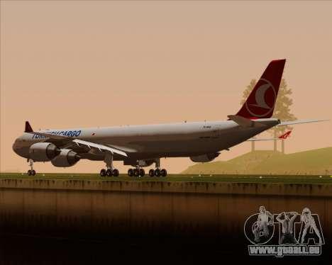 Airbus A340-600 Turkish Cargo pour GTA San Andreas roue