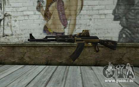 AK47 from PointBlank v2 pour GTA San Andreas