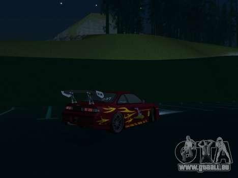 Nissan 200SX FnF1 (Letty car) für GTA San Andreas Rückansicht