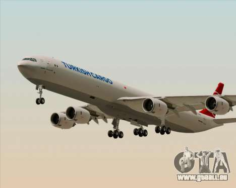 Airbus A340-600 Turkish Cargo pour GTA San Andreas vue intérieure