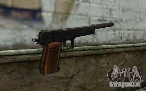 Silenced Colt45 pour GTA San Andreas deuxième écran