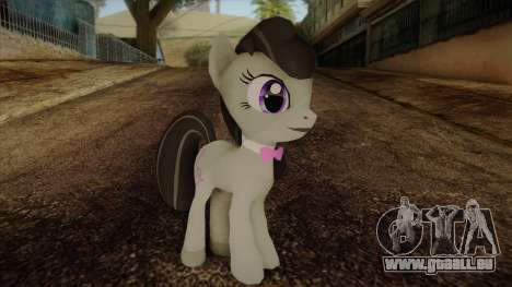 Octavia from My Little Pony pour GTA San Andreas