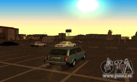 Lada 2104 Riva pour GTA San Andreas laissé vue