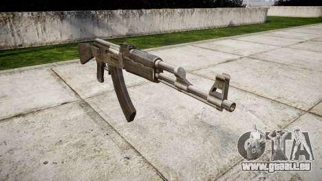 Die AK-47 Grau für GTA 4