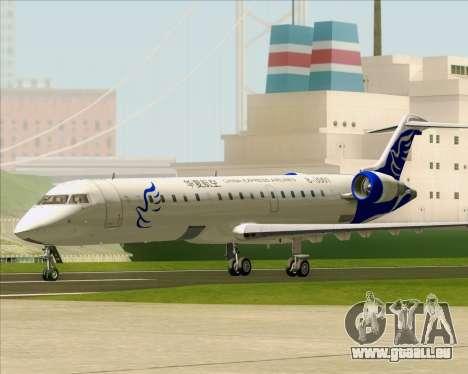 Embraer CRJ-700 China Express Airlines (CEA) pour GTA San Andreas laissé vue