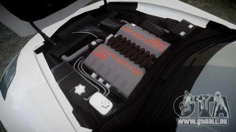 Chevrolet Corvette C7 Stingray 2014 v2.0 TireMi4 pour GTA 4 est un côté