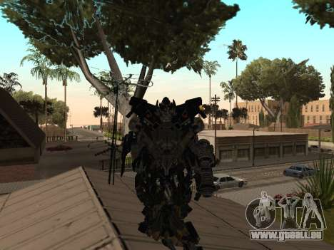 Transformers 3 Dark of the Moon Skin Pack pour GTA San Andreas troisième écran