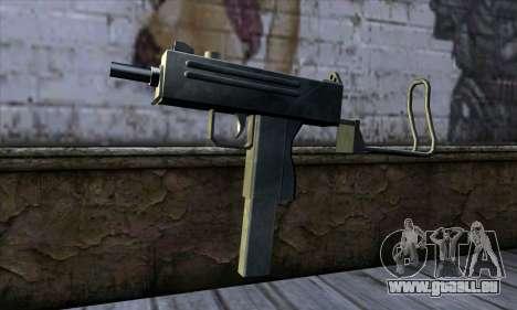 Micro Uzi v2 pour GTA San Andreas