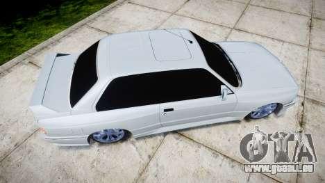 BMW M3 E30 für GTA 4 rechte Ansicht