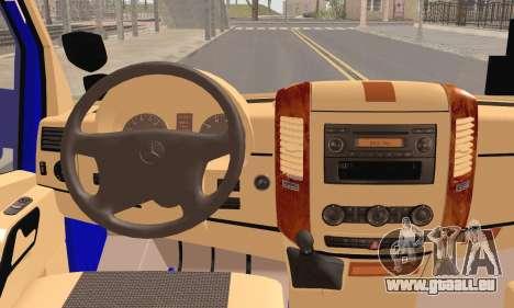 Mercedes-Benz Sprinter Ostim Dolmus pour GTA San Andreas sur la vue arrière gauche