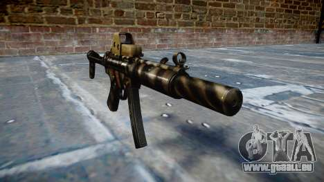 Pistolet MP5SD EOTHS FS c cible pour GTA 4