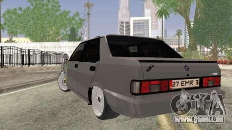 Tofas Dogan SLX pour GTA San Andreas laissé vue