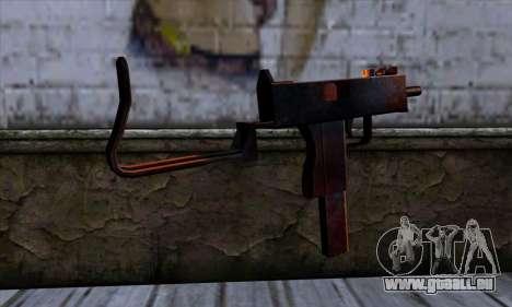 Micro Uzi v2 Rouille sanglante pour GTA San Andreas deuxième écran