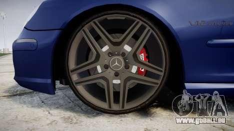 Mercedes-Benz W220 S65 AMG für GTA 4 Rückansicht