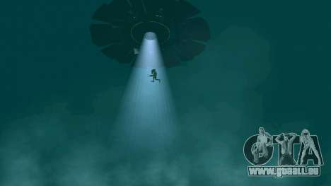 OVNI au-dessus de San Andreas pour GTA San Andreas onzième écran