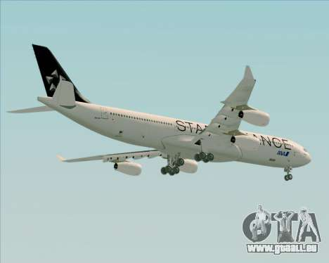 Airbus A340-300 All Nippon Airways (ANA) für GTA San Andreas rechten Ansicht