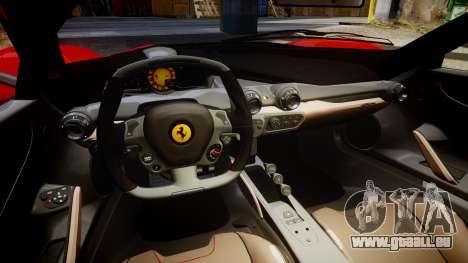 Ferrari LaFerrari 2014 [EPM] pour GTA 4 est une vue de l'intérieur