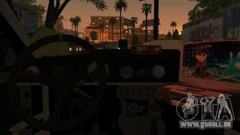 Ford Mustang GT-R Police pour GTA San Andreas sur la vue arrière gauche