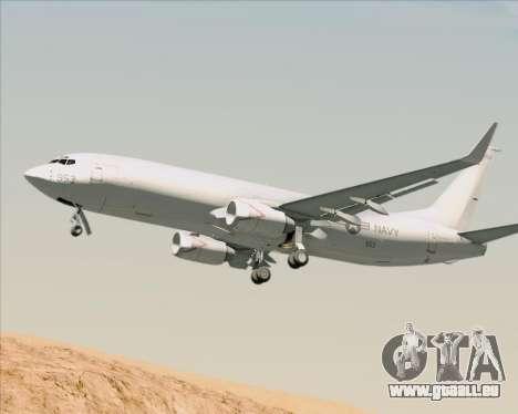 Boeing P-8 Poseidon US Navy für GTA San Andreas Rückansicht