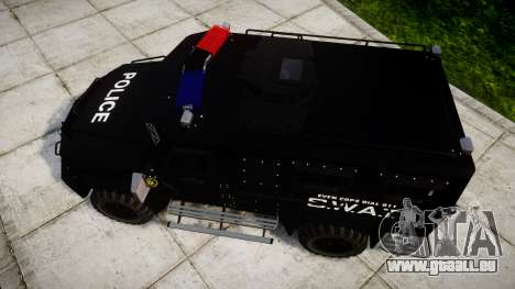 SWAT Van pour GTA 4 est un droit