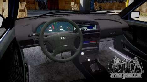 VAZ-2114, Lada Samara 2014 für GTA 4 Innenansicht