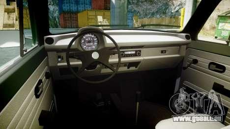 Volkswagen Beetle pour GTA 4 Vue arrière