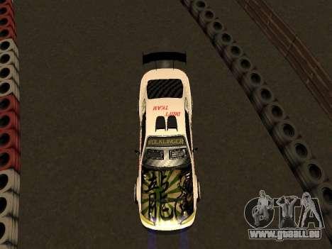Nissan Silvia S15 VCDT pour GTA San Andreas vue arrière