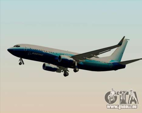 Boeing 737-800 House Colors pour GTA San Andreas roue