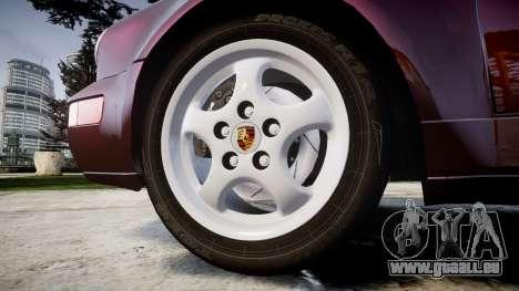 Porsche 911 (964) Targa für GTA 4 Rückansicht