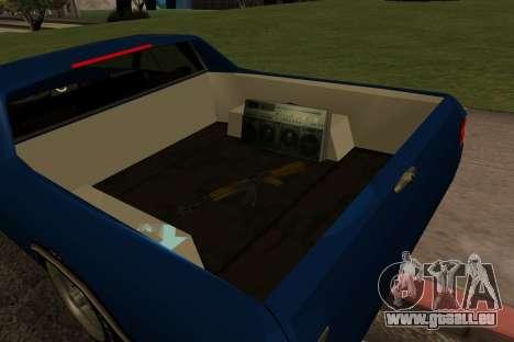 New picador für GTA San Andreas Rückansicht