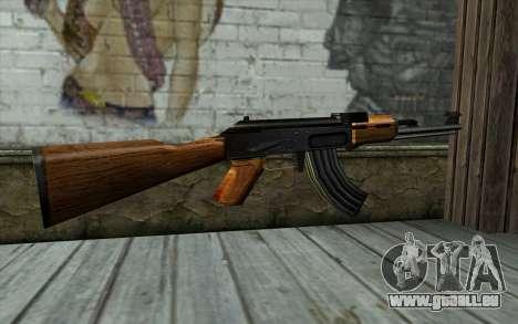 Retextured AK47 für GTA San Andreas zweiten Screenshot