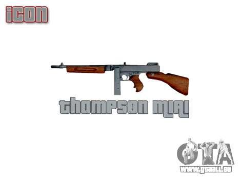 Maschinenpistole Thompson M1A1 box icon3 für GTA 4 dritte Screenshot