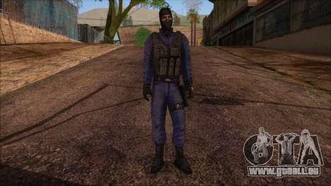 GIGN from Counter Strike Condition Zero für GTA San Andreas