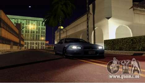 ENB pour ordinateurs faibles pour GTA San Andreas troisième écran