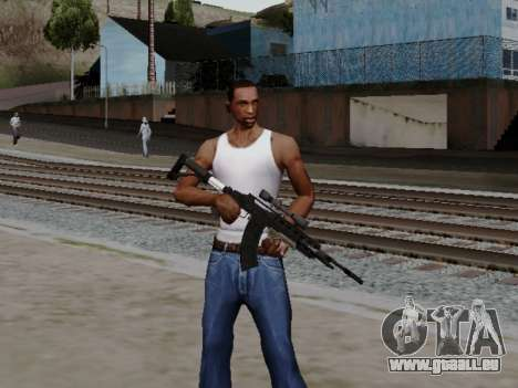 Heavy Sniper Rifle from GTA V pour GTA San Andreas