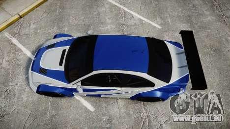 BMW M3 E46 GTR Most Wanted plate NFS MW pour GTA 4 est un droit