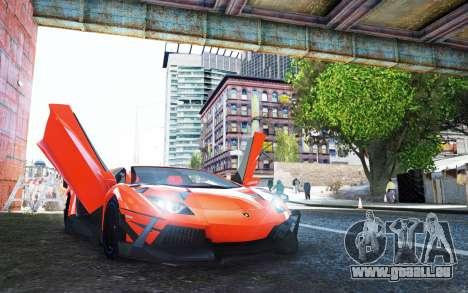 Lamborghini Aventador TZR R-Tech pour GTA 4