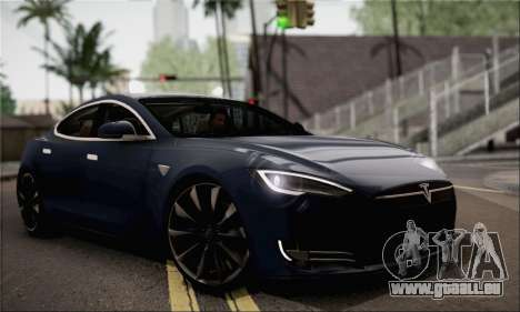 Tesla Model S 2014 pour GTA San Andreas