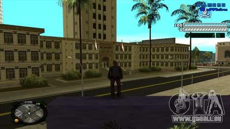 C-HUD Respect für GTA San Andreas zweiten Screenshot
